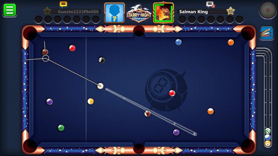 Juego de billar online 8 Ball Pool